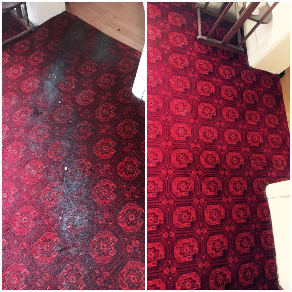Flying rug - Carpet cleaning in Stillorgan